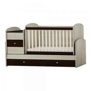 трансформиращо се бебешко легло