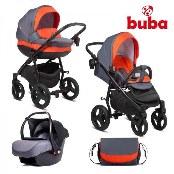 bebeshka-kolichka-3v1-buba-bella-713-pewter-orange
